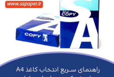 راهنمای سریع خرید کاغذ A4 برای شرکت و سازمان و اداره