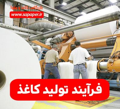 فرآیند تولید کاغذ