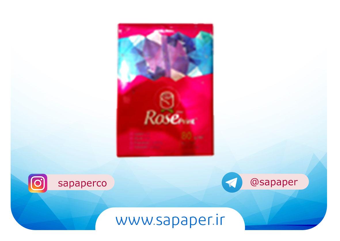 کاغذ رز پرینت Rose print