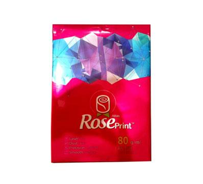 کاغذ A4 برند رز پرینت بسته 500 عددی – 80 گرمی