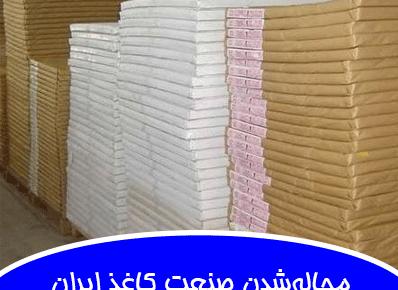 مچالهشدن صنعت کاغذ ایران