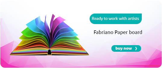 fabriano paper banner